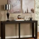Corner accent table decor