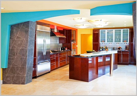 Kitchen wall colors pictures