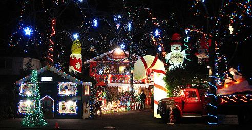 Outdoor christmas lights 2012